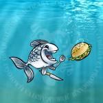 Bacite hranu ribama